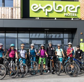 Das Explorer Ladies Bike Camp in Kitzbühel