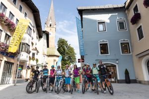 Gemeinsame Ausfahrt beim Explorer Ladies Bike Camp