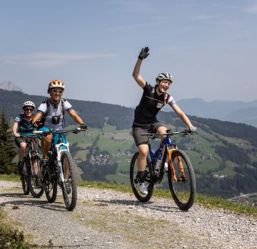 Spaß beim Explorer Ladies Bike Camp