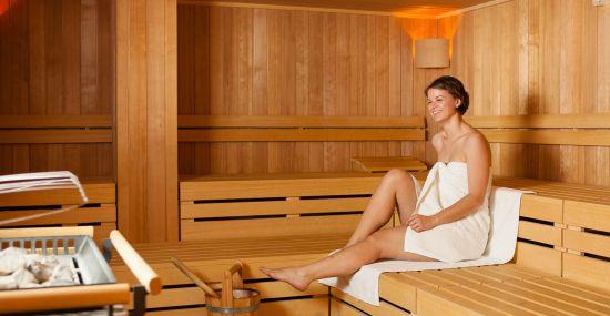 Sport Spa mit Sauna, Dampfbad und Infrarot