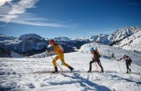 Der Jennerstier ist das anspruchsvollste Skitourenrennen Deutschlands