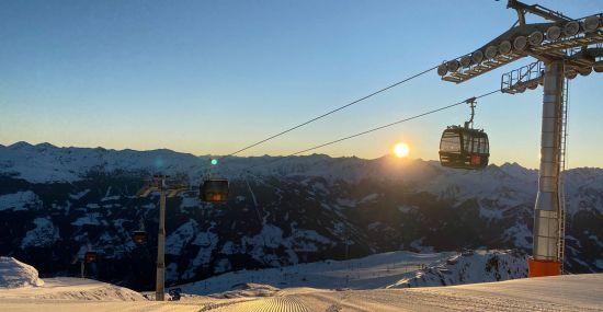 Earlybird Skiing Hochzillertal