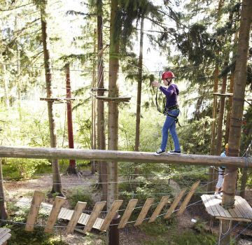 Kletterwald Grüntensee