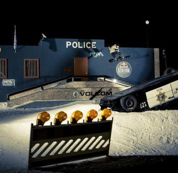 Schneller und höher als die Polizei erlaubt!
