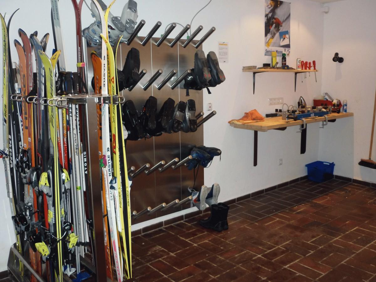 Ski- und Fahrradraum