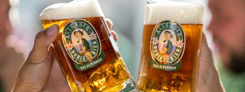 Büble Bier vom Allgäuer Brauhaus