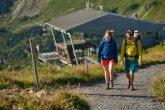 Wanderung ab der Gipfelstation
