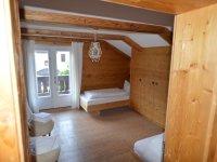 Zweibettzimmer im OG mit Südbalkon