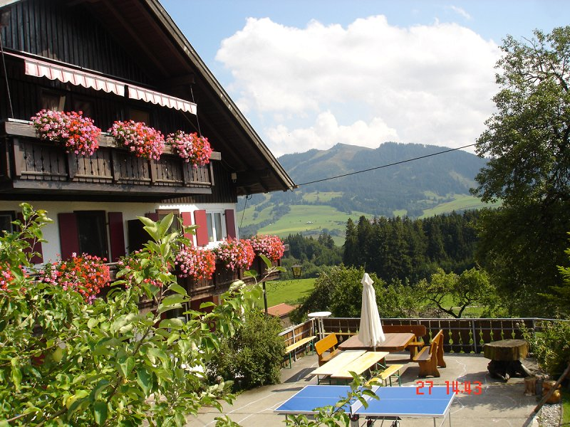 Ferienhof ca. 1000m h. gr. Sonnenterasse