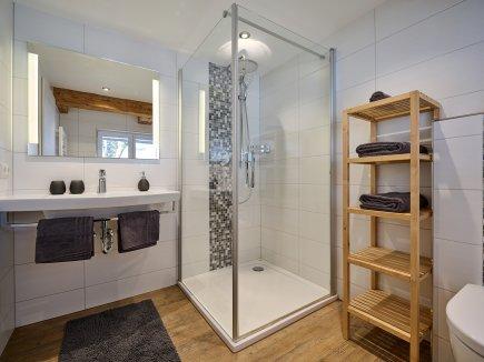 Badezimmer in der Wohnung HofBlick 2
