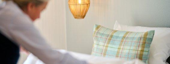 Wäschewechsel und Endreinigung beim Landurlaub im Allgäu