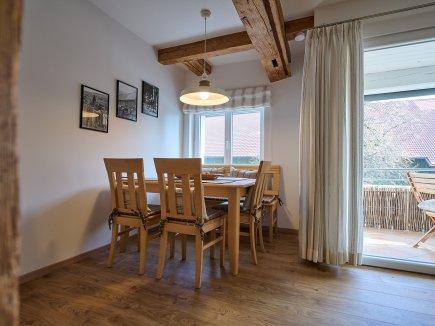 Essbereich der Wohnung LindenBlick