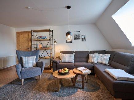 Couch-Ecke der Ferienwohnung AdeleggBlick