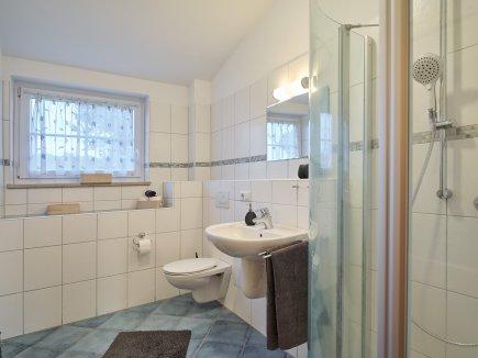 Badezimmer der Wohnung WiesenBlick
