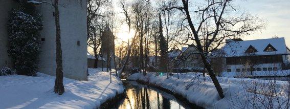 Winter im Kurpark