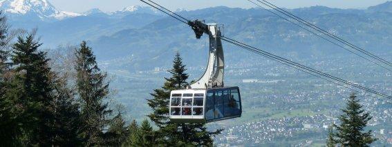 Die Pfänderbahn in Bregenz
