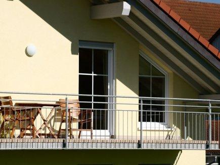 Balkon der Ferienwohnung Wiesenblick