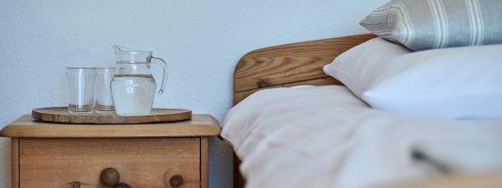 Altes Holz im Schlafzimmer