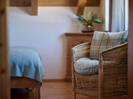 Entspannungsecke im Einzelzimmer