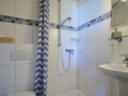 Kleines Bad zum Einzelzimmer