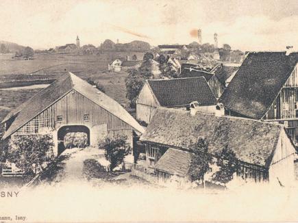 Hofgut zu Beginn des 20. Jahrhunderts