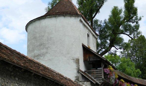 Speicherturm und Stadtmauer in Isny