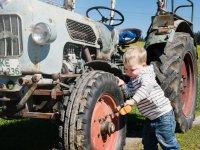 Traktor reparieren