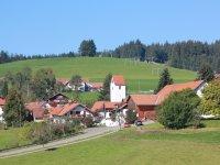 Beschauliches Dorf Eschach