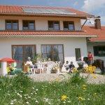 Ferienhaus Hennastall Garten