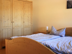 Schlafzimmer Ferienhaus Hennastall