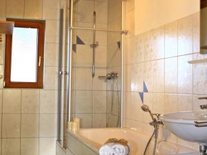 Badezimmer Ferienhaus Viehweid