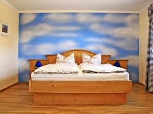 Schlafzimmer (eins) Ferienhaus Viehweid