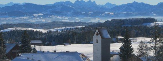 Winterliches Eschach