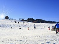 Winter an den Schwärzenliften in Eschach
