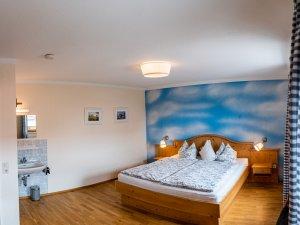 Schlafzimmer-zwei ferienhaus-viehweid