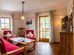 Wohnzimmer ferienhaus-viehweid