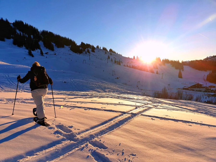 Schneeschuhtour Grasgehren