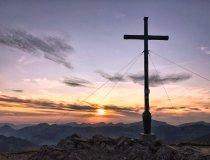 Sonnenuntergang Riedbergerhorn 2