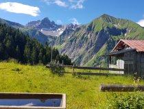 Bergtour Sicht auf Krottenspitzen und Fürschießer