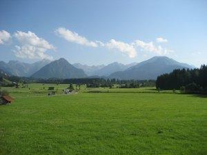 (H)Ausblick in Richtung Oberstdorf