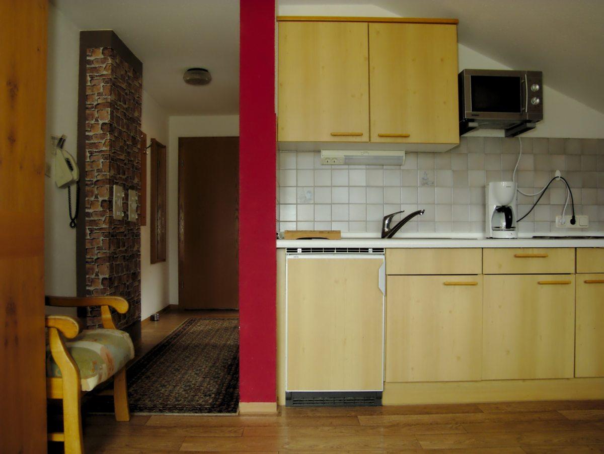 Ferienwohnung Küchenzeile