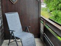 Balkon neu Liegestuhl