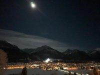 Skispringen 2020 Ausblick auf die Schanze