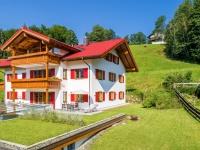Landhaus Stillachaue, Gartenansicht