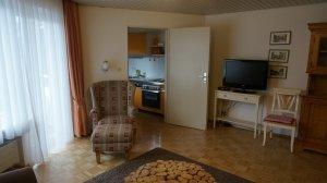 Wohnzimmer Ferienwohnung Geiger