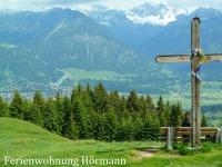 Gaisberg, den Hausberg erobern - mit Blick auf Oberstdorf