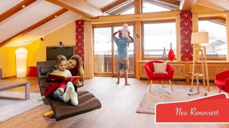 Ferienwohnung Berglicht Wohnzimmer - Badge 2