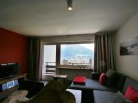 Wohnzimmer mit grandiosem Blick auf Oberstdorf
