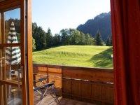 Blick in die Alpenwelt