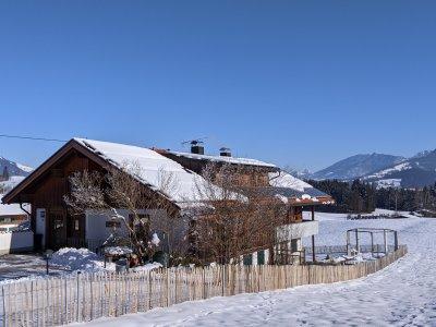 Landhaus Tröster, Ofterschwang im Winter